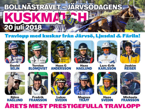 Järvsödagen på travet – festlig tradition