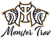 Monster Trav Logotyp